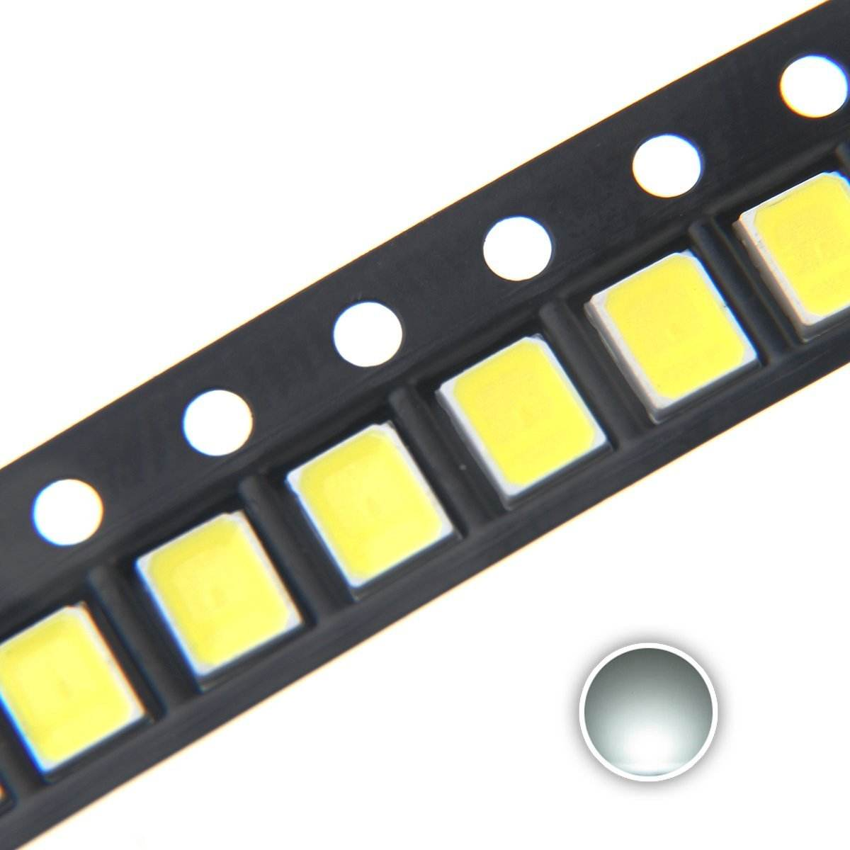 Free sample 5050 3528 2835 5730 3030 smd led chip with high luminous 140-150lm for car light