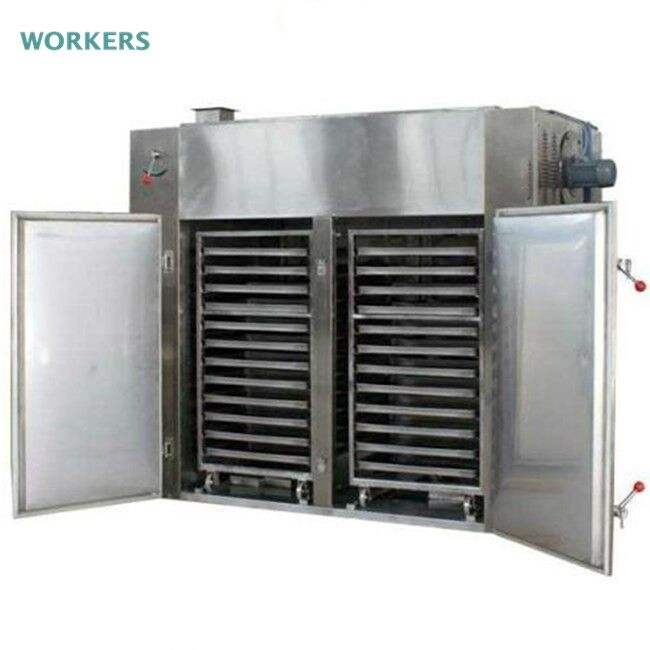 fully welded factory price hot air circulation dehydrator oven chili sauce drying machine slices/chip product dryer equipment