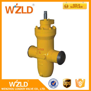 WZLD manufacturers Manual Control API 6D Stainless Steel 304 Gas Gate Valve Price list