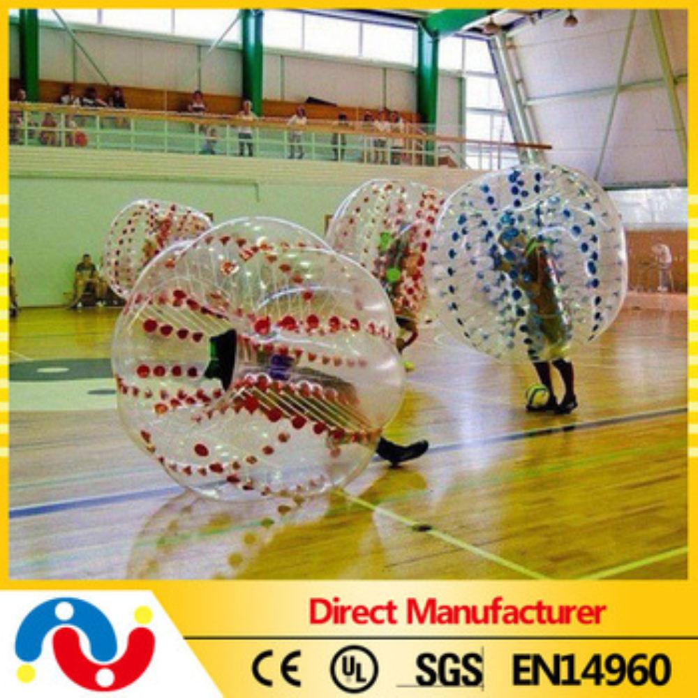 2015 оптовая продажа красочные 0.8 мм 1 мм PVC / TPU надувные пузырь прыгающие шарики 2