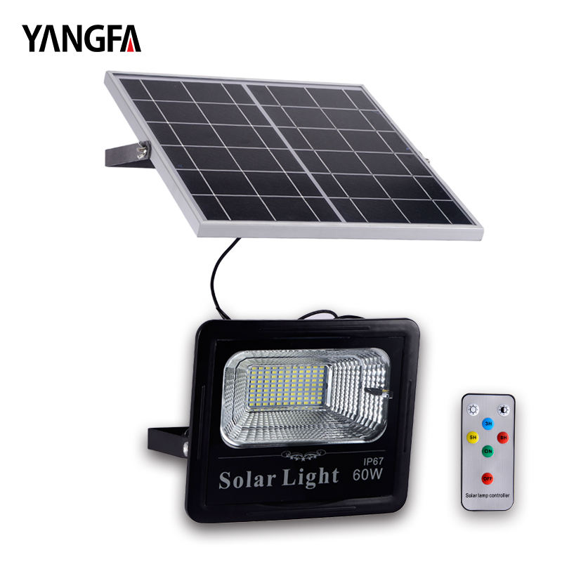 YANGFA DF01 Wall Mounted IP65 Outdoor 20W 40W 50W 60W 100W LED Solar Yard light
