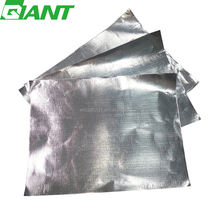 Heat shield,fiberglass cloth embossed aluminum foilfor heating film acoustic insulation material