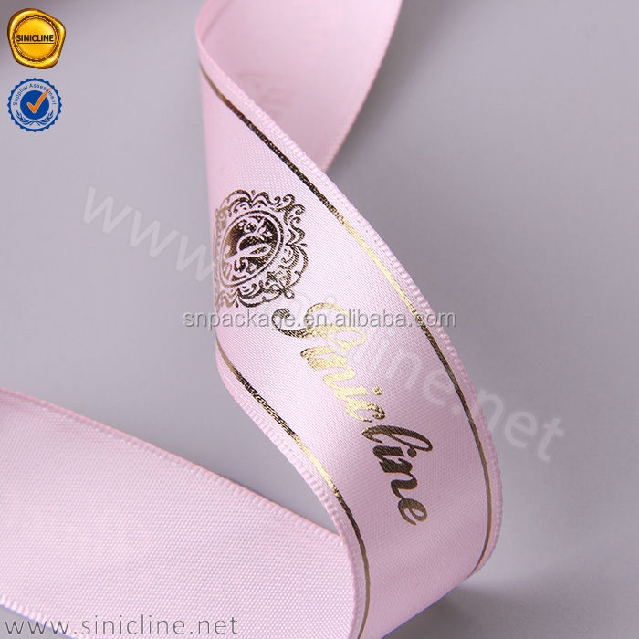 Sun Nature custom satin ribbon for hair extension
