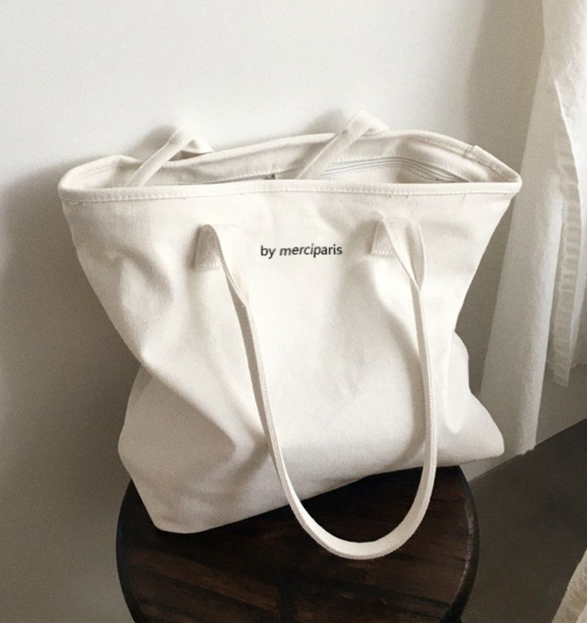 Wholesale Standard Size Custom Printed canvas Tote Hand Shopping Cotton net Bag