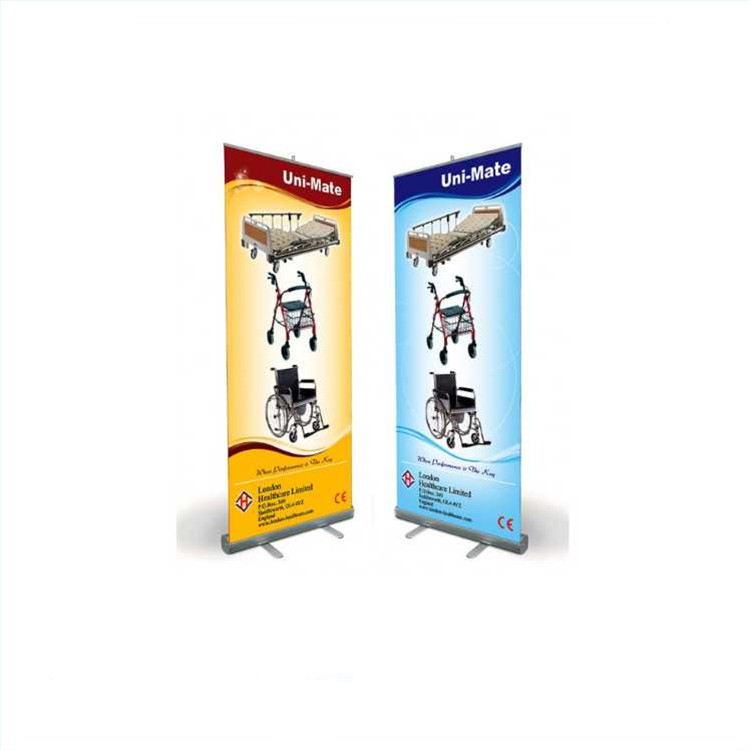 Roll Up Banner Size/Elektrische Roll Up Banner/Moving Roll Up Banner Stand