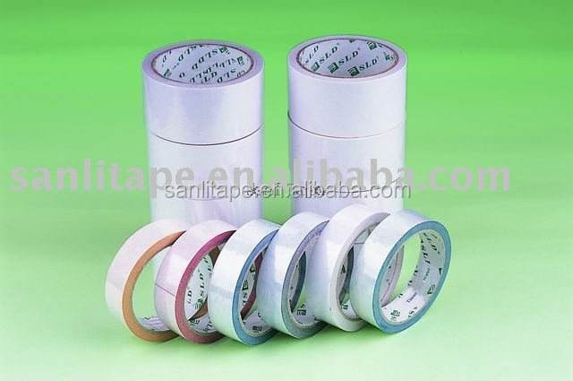 double sided tissue tape for office and paper industry