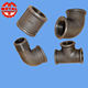 plumbing materials sanitary male female threaded screwed galvanized pipe fitting