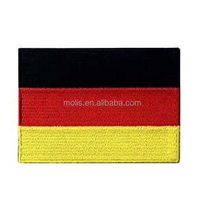 Deutschland Flagge Gesticktes Emblem Deutsch Stickerei Applique Patch