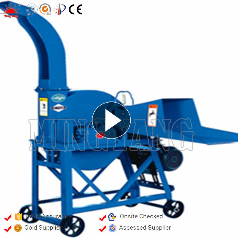 New Design Small Diesel Corn Rice Grass Stalk Hay Ensilage Chaff Cutter Machine For Sale In Pakistan