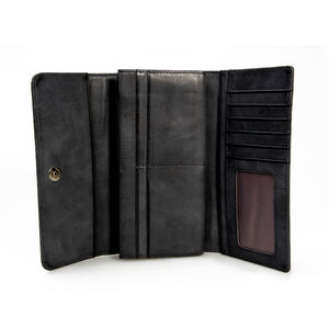 Excellent Unique Design Top Brand Imperial Leather Smart Wallet for Men