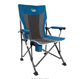 Timber Ridge Camping Chair Ergonomic High Back Support 300lbs with Carry Bag Folding Quad Chair Outdoor Heavy Duty, Padded Armre