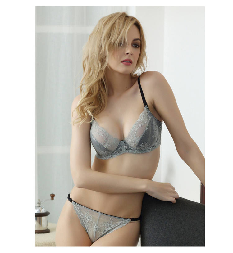 2017 wholesale ladies sexy net bra sets hot sale underwear photos