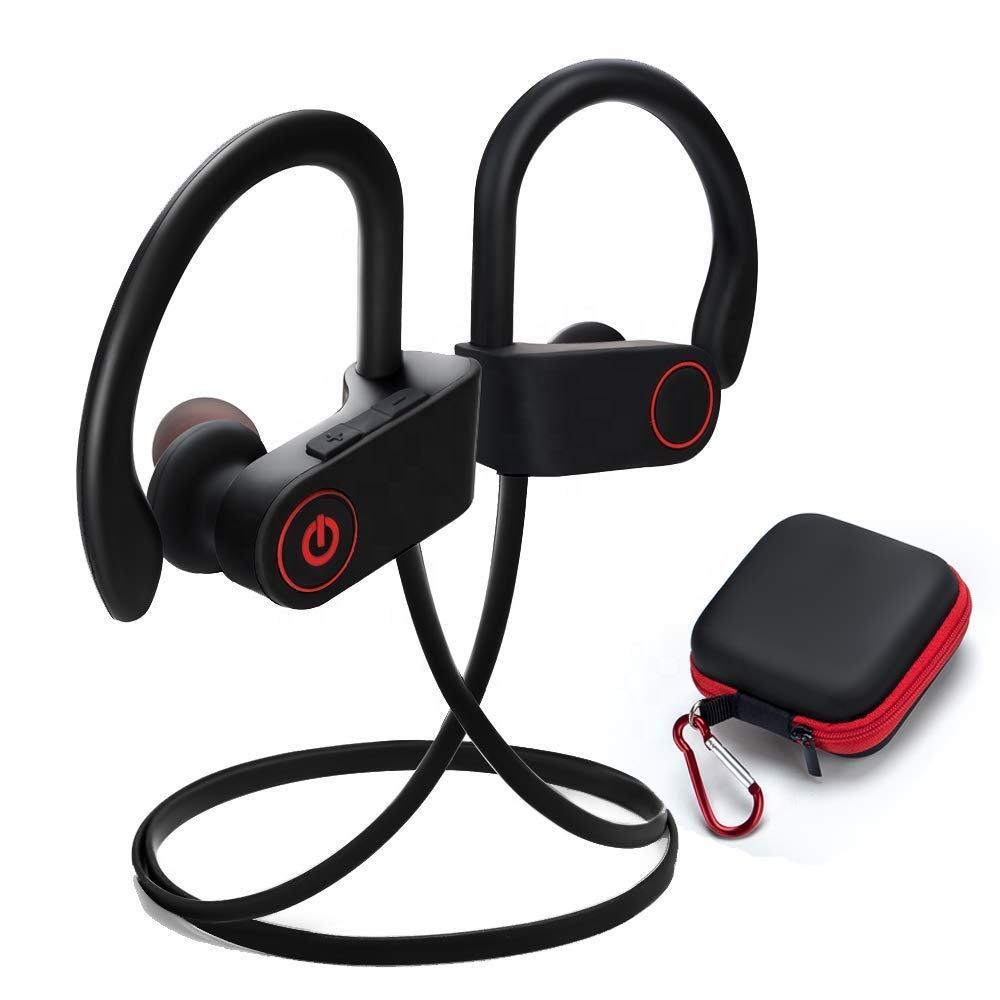 Waterproof IPX7 U8 Wireless sport bluetooths headphone earphone U8 bluetooths headset