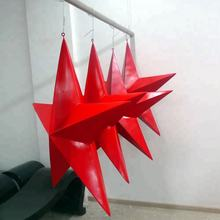 big size fiberglass decorative ceiling hanging stars for christmas decoration