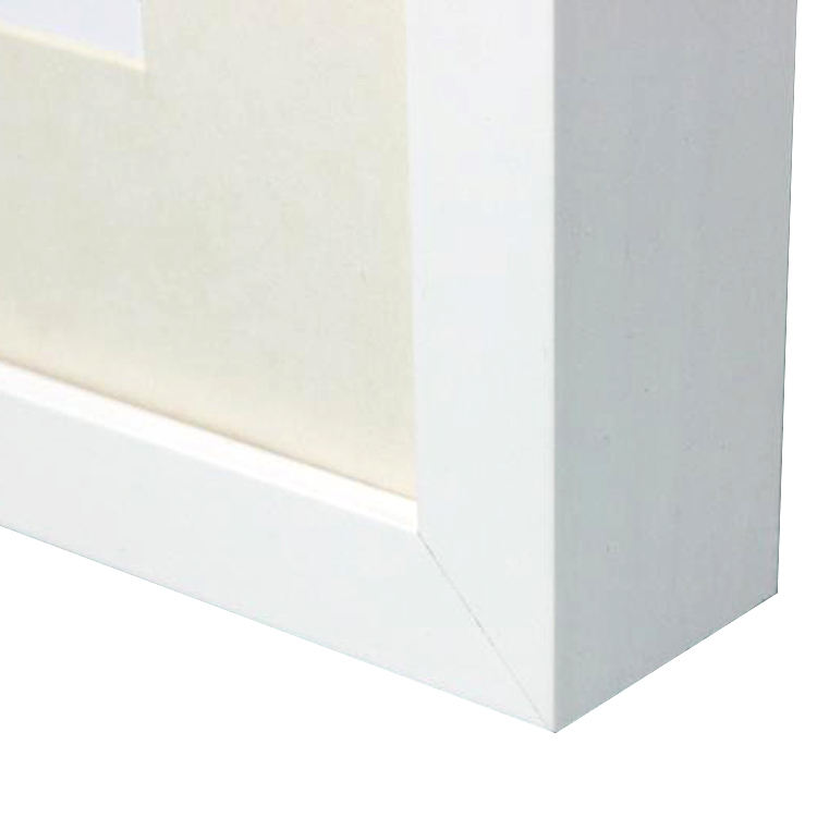 3D Square White Shadow Box Plastic Photo Frames Wholesale