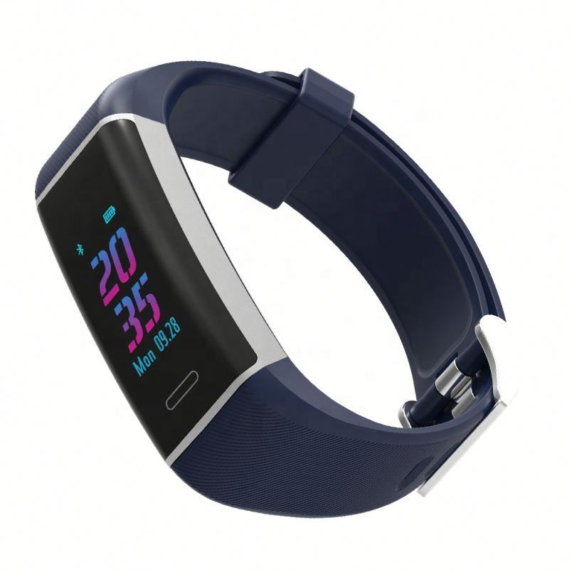 2020 Heart Rate pedometer GPS Fitness CE ROHS กันน้ำสมาร์ท W7