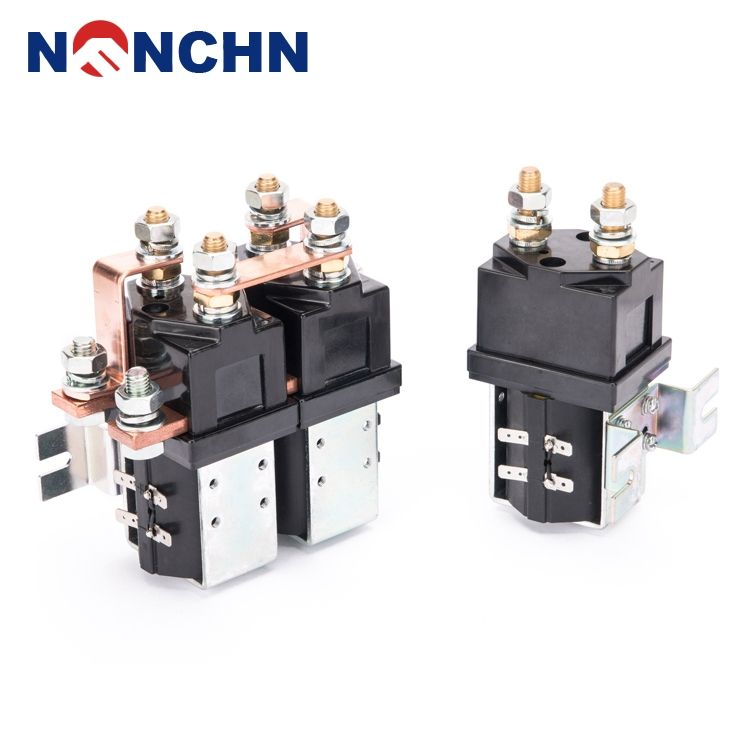 NANFENG New Products Agents Wanted 12V Safety Automotive Contactor Types Of Dc Magnetic Relays With Trade Date