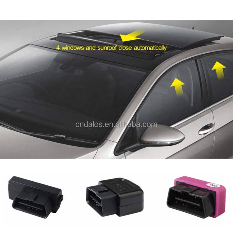 New upgrade automatic OBD socket window closer Intelligent 4 windows closing OBD window closer