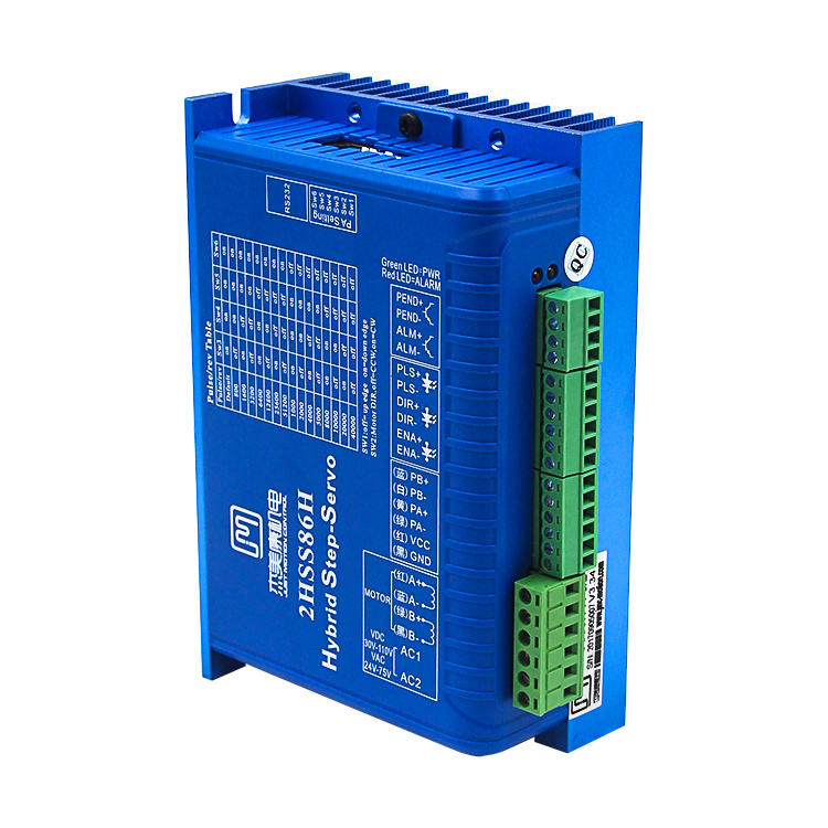 High quality cnc Step servo JMC driver and motor 2HSS57-2 phase easy operation hybrid AC servo motor driver system