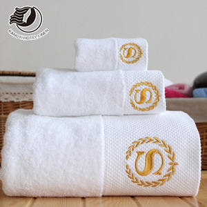 Hotel Towel 5 Star For Hotel White Luxury Hotel Towels With Customized Logo Service
