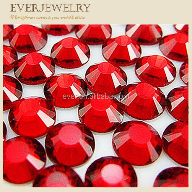 Hot sell 4mm Glass Flat Back Non-HotFix DMC Rhinestones