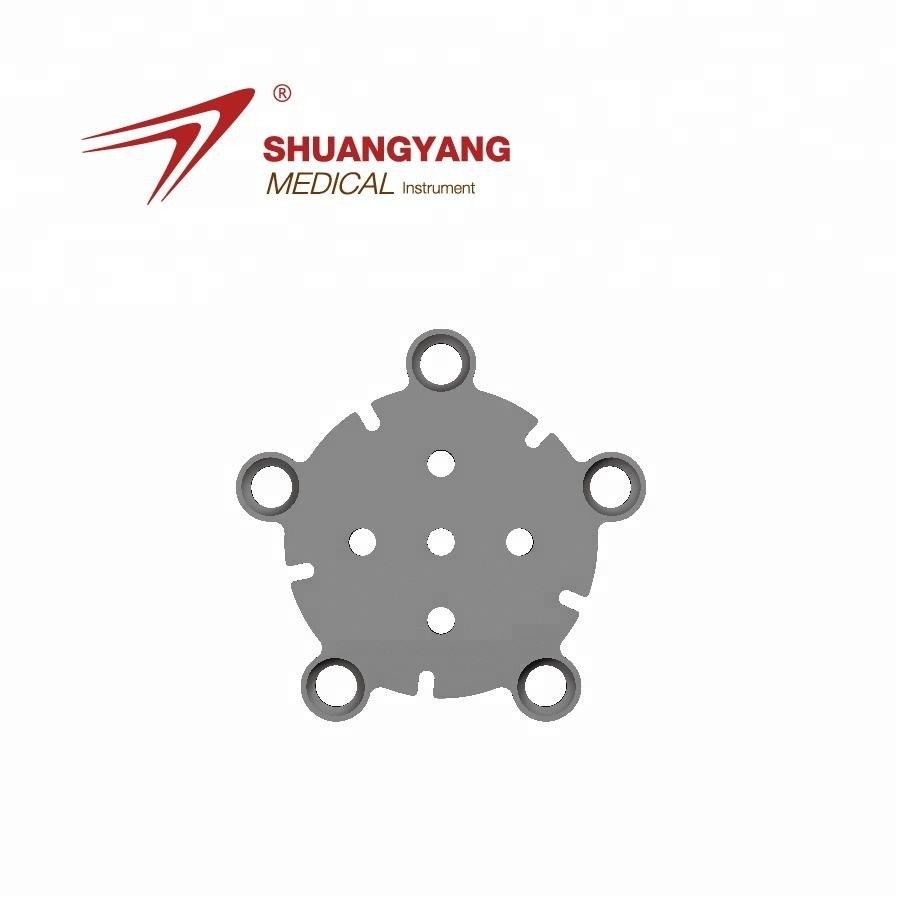 Orthopedic Implant Surgical Skull Cranial Interlink Titanium Plate Snowflake Mesh