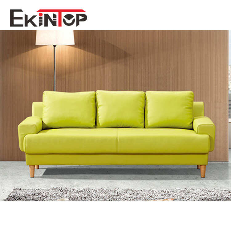 Ekintop bright colored booth seat exotic silver people lounger cow leather sofa sat set