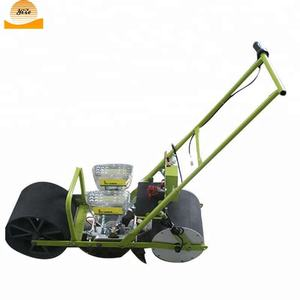 Manual farm vegetable seeder machine hand push vegetable seeding machine