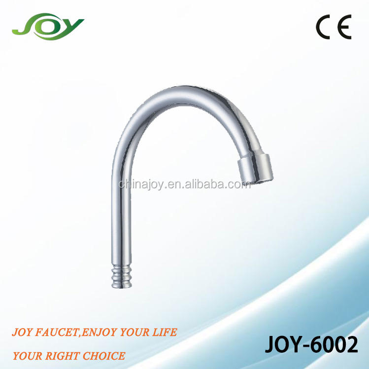 brass kitchen faucet spout,stainless steel basin tap tube,ss sink mixer pipe