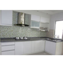 ready made home cabinet guangzhou small modular design modern kitchen