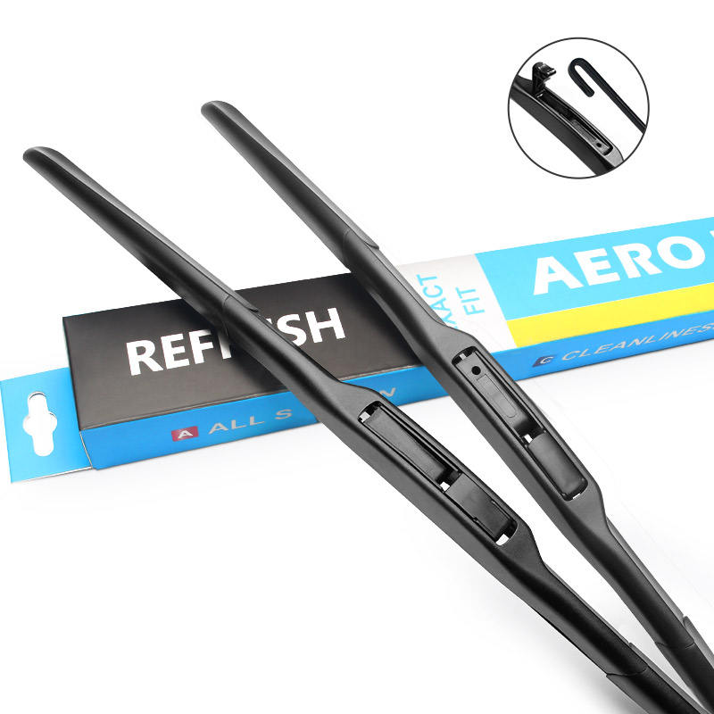 Front Windshield Wiper Blades for Daewoo Leganza Fit Hook Model Year 1997 1998 1999 2000 2001 2002 2003