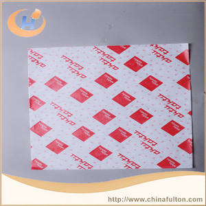 Best sold oil absorbing water resistant hamburger paper printed hamburger greaseproof paper