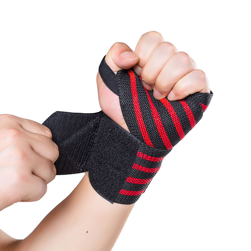 HYL-2633 Wholesale High Quality fitness compression wrist brace wraps with custom logo