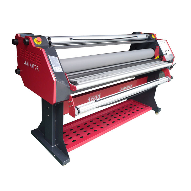 AllColor Automatic 1600 Wide Format Hot Laminator/cold Laminating Machine