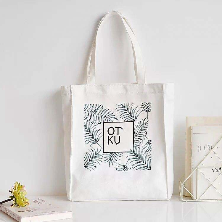 Cheap and high quality reusable shopping bag, cotton tote bag can be customized on your logo