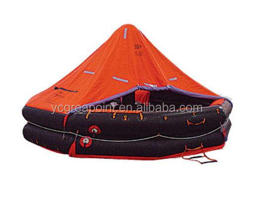 SOLAS Approved Marine Self Inflating Life Raft with Cheap Price