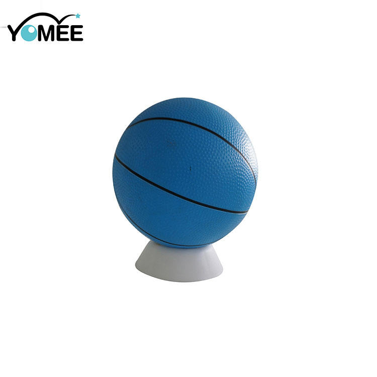 Blue Color Small Size Eco-Friendly PVC Ball For Kids 22.5cm PVC Children Toy Basketball
