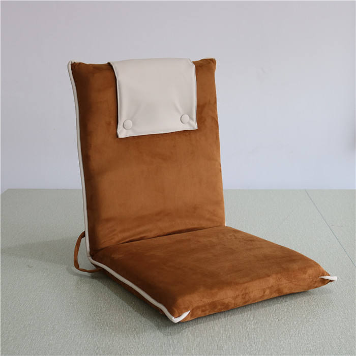 folding chair/portable camping chair,High quality folding recliner folding floor chair/yoga chair