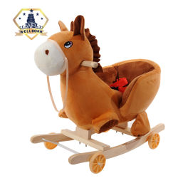 Hot small cheap kids rocking horse toy for sale from China