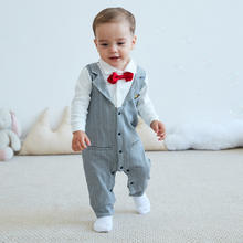 New hot selling products infant wholesale boys fine clothes  korean formal baby clothes with Chinese label
