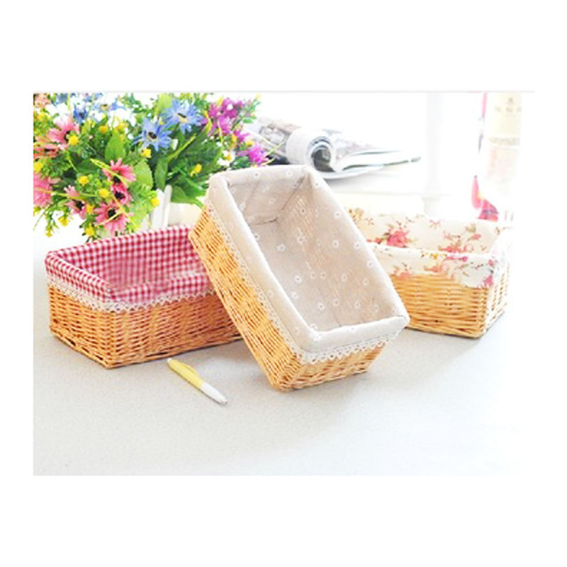 handicrafts wicker basket willow woven basket