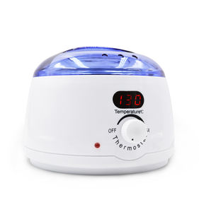 Beauty Equipment LED Temperature Control 500cc Paraffin Wax Heater Skin Care Depilatory Wax Warmer Hair Removal Kit