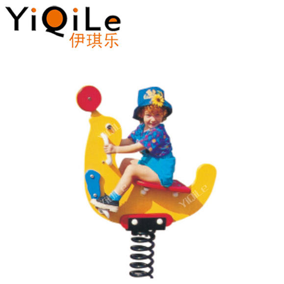 Professional made rocking horse swings Attractive children used playground spring riders