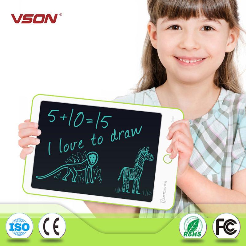 Функция APP дети цифровой ЖК-доска 9 дюймов зеленая доска