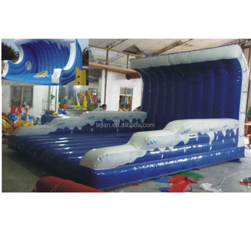 Kids Game Play Bouncy Castle Price Child Surfing Inflatable Bounce Water World