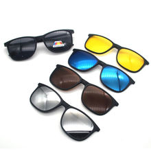 New clip on Optical Frame clip in Multi Colored PC Clip On Sunglass