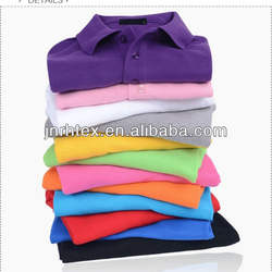 custom t shirt polo 100%cotton