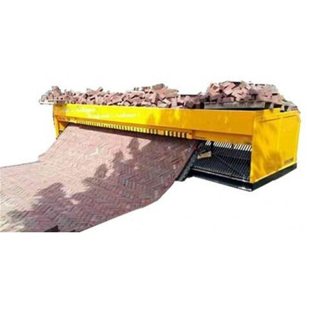 Stone Brick Paver Laying Machine For Sale