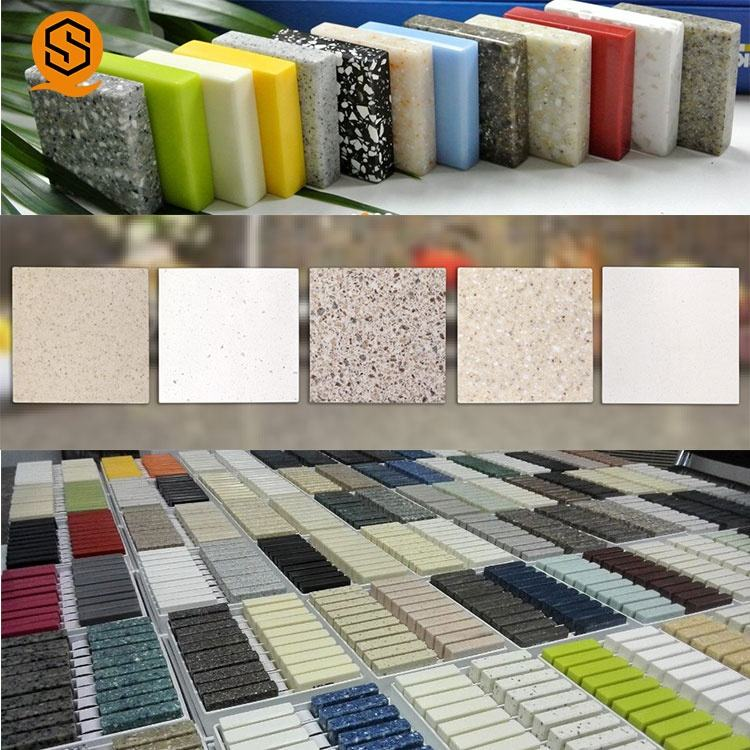 Good price easily repairable man made stone acrylic solid surface manufacturer
