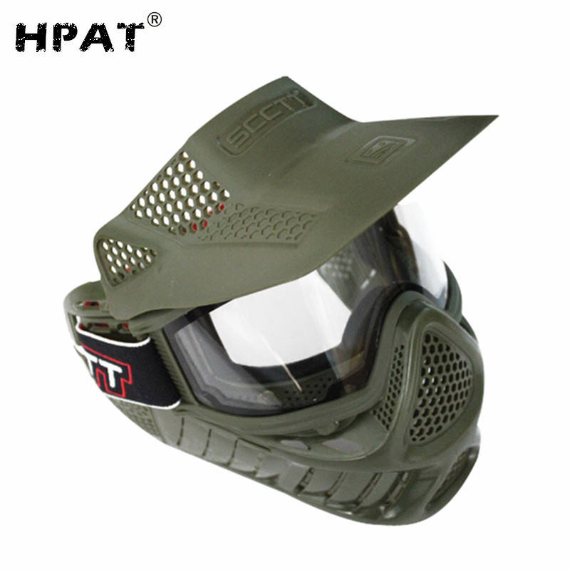 Double Lens Anti Fog Paintball Mask Airsoft Mask
